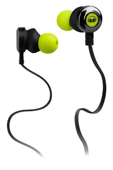 Casque intra-auriculaire CLARITY HD GREEN Monster