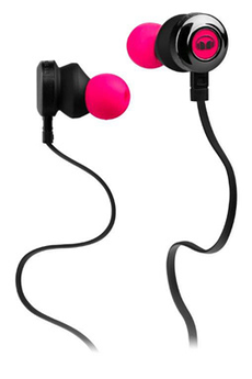 Casque intra-auriculaire CLARITY HD PINK Monster