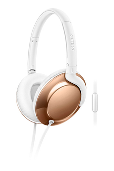 Casque arceau Flite Everlite Rose Gold SHL4805RG/00 Philips
