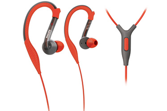 Casque intra-auriculaire SHQ3205 ACTIONFIT ORANGE ET GRIS Philips