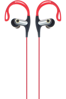 Casque intra-auriculaire ENDURANCE BT ROUGE R-music
