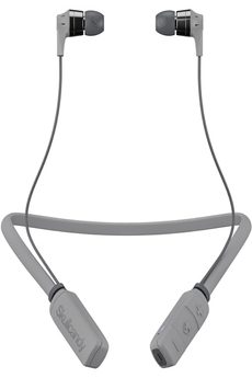 Ecouteurs Skullcandy INK'D WIRELESS GRIS