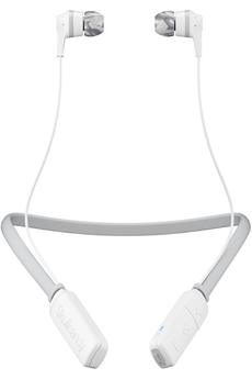 Ecouteurs Skullcandy INK'D WIRELESS BLANC