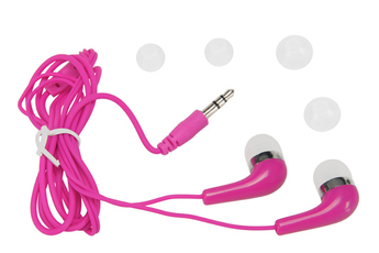Casque intra-auriculaire HP-1302 Rose Temium