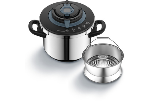 NUTRICOOK+ COCOTTE MINUTE 8 LITRES INOX INDUCTION