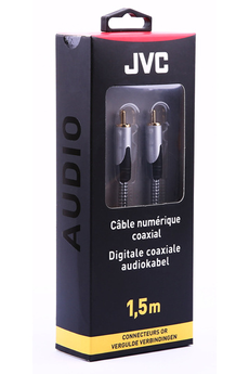 Cable audio DIGI COAXIAL 1,5M Jvc