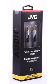 Cable audio DIGITAL COAXIAL 3M Jvc