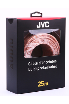 Cable audio SPEAKER CABLE 25M Jvc