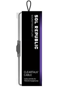 Cable audio CLEAR TALK NOIR Sol Republic