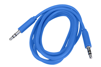 Cable audio JACK 3,5MM 1,5M BLEU Temium