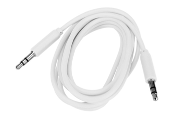 Cable audio JACK 3,5MM 1,5M BLANC Temium