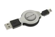 Belkin USB A/Mini B Enrouleur 1M