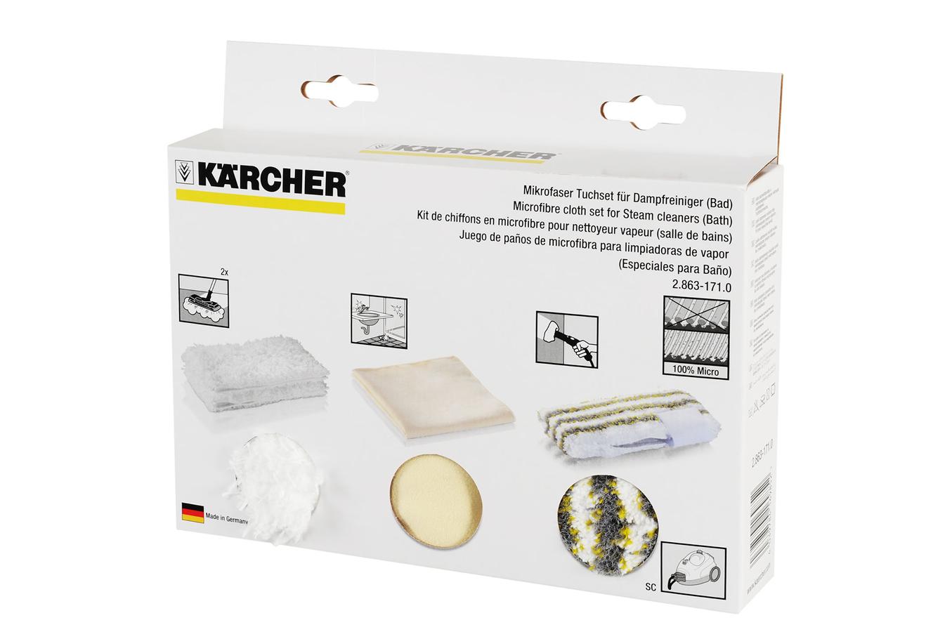 accessoire nettoyeur vapeur karcher kit salle de bain 2. Black Bedroom Furniture Sets. Home Design Ideas