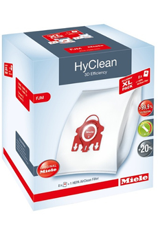 Sac aspirateur PACK XL ALLERGY FJM HYCLEAN 3D Miele