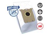 Sac aspirateur Temium EL117SN ANTI-ODEUR 6 SACS