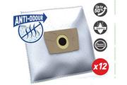 Sac aspirateur Temium RO122MN ANTI-ODEUR 12 SACS