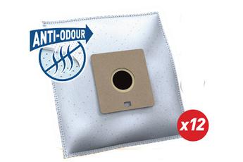 Sac aspirateur SA102MN ANTI-ODEUR 12 SACS Temium