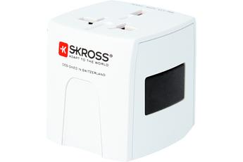 Alimentation électrique Adaptateur de voyage Skross