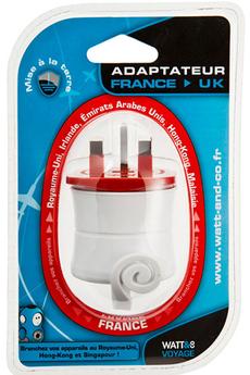 Alimentation électrique ADAPTATEUR SECTEUR FRANCE/ROYAUME-UNI Watt&co