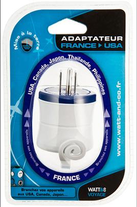 Alimentation lectrique watt co adaptateur secteur france - Adaptateur electrique usa ...