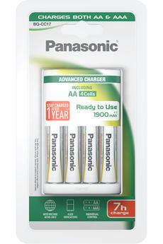 Chargeur de piles EVOLTA 7H + 4 PILES AA Panasonic