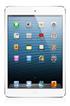 Apple IPAD MINI 16 GO WI-FI+CELLULAR BLANC photo 1