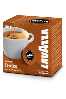 Capsule café CAPSULE LUNGO DOLCE Lavazza