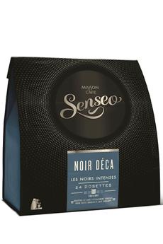 Dosette café DOSETTES NOIR DECAFEINE Senseo