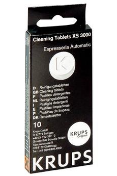 Nettoyant et détartrant pour cafetière EXPRESSERI X10 Krups