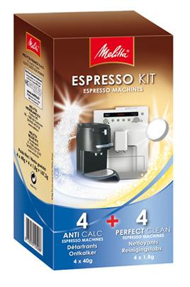 Nettoyant et détartrant pour cafetière Melitta KIT ESPRESSO