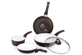 Poele / sauteuse SET 5 PIECES CERAMIC Bialetti