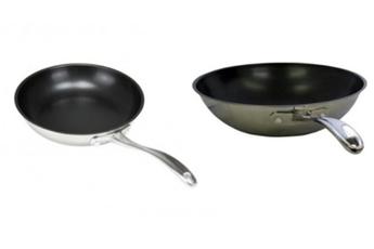 Poele / sauteuse Poêle 24 cm CW0057 + wok 28 cm CW0059 Royal / Vkb