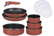Tefal SET 10 PIECES INGENIO 5 CORAIL