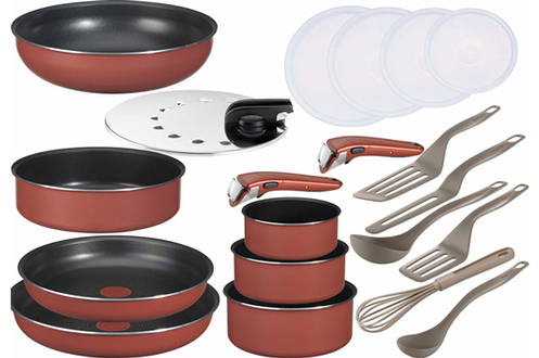 Tefal SET 20 PIECES INGENIO 5 CORAIL