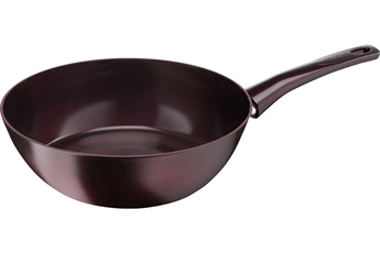 Poele / sauteuse DARK RUBY INDUCTION POELE WOK 28 CM Tefal