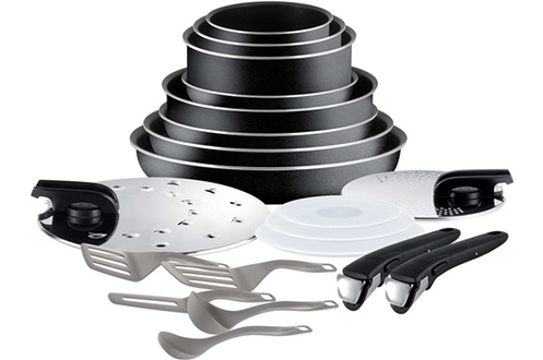 Poele / sauteuse INGENIO ESSENTIAL NOIR SET 20 PIECES Tefal