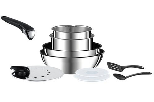 Poele   sauteuse INGENIO PREFERENCE 10 PIECES INOX Tefal 633901d1d696