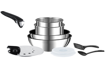Poele / sauteuse INGENIO PREFERENCE 10 PIECES INOX Tefal