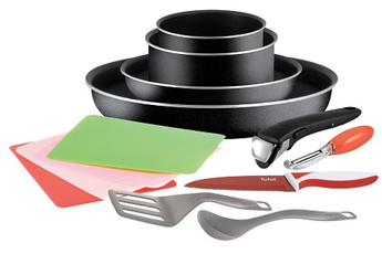 Poele / sauteuse INGENIO ESSENTIAL 13 PIECES PREP Tefal
