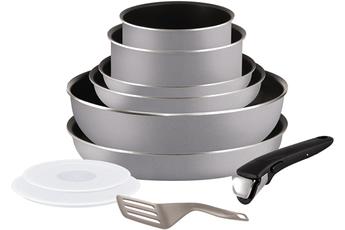 Set 10 pièces Revêtement antiadhésif Thermospot : indicateur de chaleur pour une cuisson optimale Compatible tous feux sauf induction