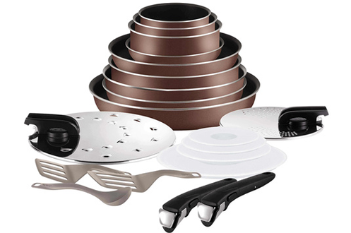 Tefal SET 20 PIECES INGENIO BROWN