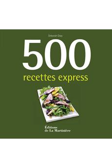 Livre de cuisine 500 RECETTES EXPRESS De La Martiniere