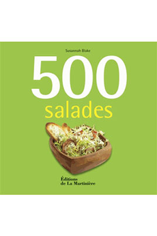 Livre de cuisine 500 SALADES De La Martiniere