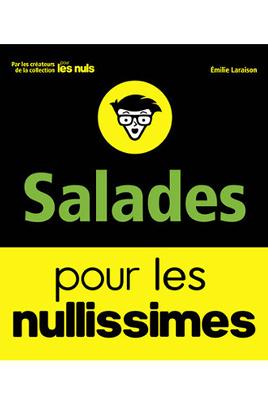 Livre de cuisine First Editions SALADES POUR LES NULLISSIMES