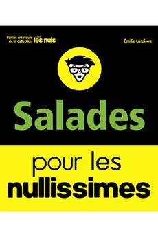 Livre de cuisine SALADES POUR LES NULLISSIMES First Editions