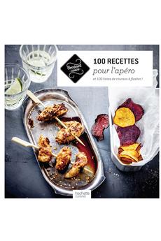 Livre de cuisine 100 RECETTES POUR L'APERO Hachette