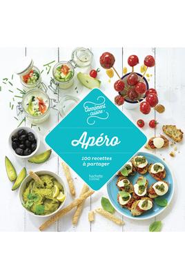 Livre de cuisine Hachette APERO 100 RECETTES A PARTAGER