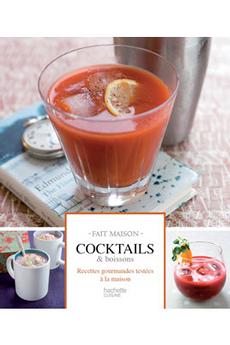 Livre de cuisine COCKTAILS, APEROS ET LIQUEURS Hachette