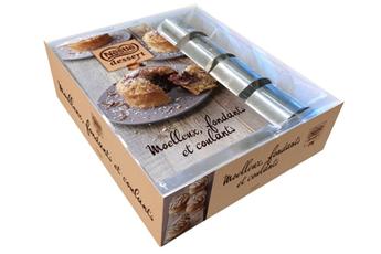 Livre de cuisine COFFRET MOELLEUX FONDANTS ET COULANTS Hachette