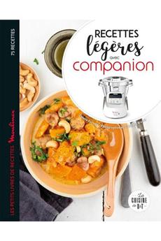 Livre de cuisine Hachette Companion recettes légères